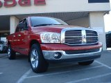 2007 Flame Red Dodge Ram 1500 ST Quad Cab #37777500