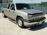 2003 Light Pewter Metallic Chevrolet Silverado 1500 LS Extended Cab #37777220
