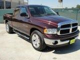 2005 Deep Molten Red Pearl Dodge Ram 1500 SLT Quad Cab #37777221