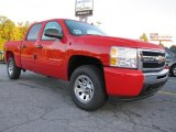 2011 Victory Red Chevrolet Silverado 1500 LS Crew Cab 4x4 #37777247