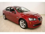2009 Sport Red Metallic Pontiac G8 Sedan #37777553