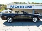 2007 Black Ford Mustang GT Premium Convertible #37777061