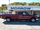2004 Sport Red Metallic Chevrolet Silverado 1500 LS Extended Cab #37777063