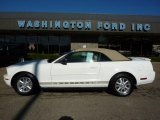 2007 Performance White Ford Mustang V6 Premium Convertible #37777349