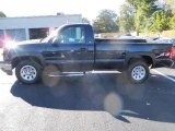 2005 Dark Blue Metallic Chevrolet Silverado 1500 LS Regular Cab 4x4 #37777670