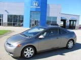 2006 Galaxy Gray Metallic Honda Civic LX Coupe #37777684