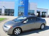 2006 Galaxy Gray Metallic Honda Civic LX Coupe #37777684