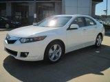 2010 Premium White Pearl Acura TSX Sedan #37777383