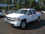 2011 Summit White Chevrolet Silverado 1500 LT Crew Cab 4x4 #37777693