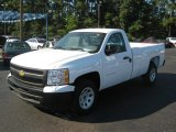 2011 Summit White Chevrolet Silverado 1500 Regular Cab #37777695