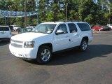 2011 Summit White Chevrolet Suburban LTZ #37777696