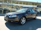 2008 Ocean Blue Pearl Effect Audi A4 2.0T quattro Sedan #37777132