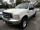 2002 Oxford White Ford F250 Super Duty XL Regular Cab 4x4 #37777706