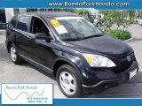 2008 Nighthawk Black Pearl Honda CR-V LX #37777156