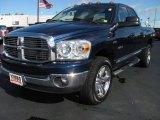 2008 Patriot Blue Pearl Dodge Ram 1500 Big Horn Edition Quad Cab 4x4 #37777763