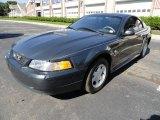 1999 Dark Green Satin Metallic Ford Mustang V6 Coupe #37777457