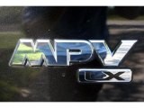 Mazda MPV 2005 Badges and Logos