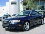 2008 Moro Blue Pearl Effect Audi A4 2.0T Cabriolet #375483