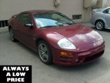 2003 Ultra Red Pearl Mitsubishi Eclipse GTS Coupe #37839303