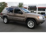 2002 Woodland Brown Satin Glow Jeep Grand Cherokee Limited 4x4 #37839315