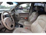2002 Jeep Grand Cherokee Limited 4x4 Sandstone Interior