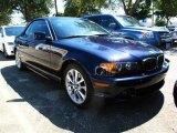 2004 Orient Blue Metallic BMW 3 Series 330i Convertible #37839339