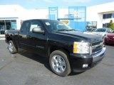 2011 Black Chevrolet Silverado 1500 LT Extended Cab 4x4 #37839538