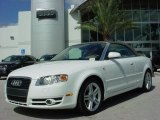 2008 Ibis White Audi A4 2.0T Cabriolet #375485