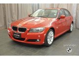 2011 Crimson Red BMW 3 Series 328i xDrive Sedan #37776831