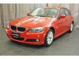 2010 Crimson Red BMW 3 Series 328i xDrive Sedan #37776832