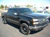 2006 Black Chevrolet Silverado 1500 LT Crew Cab 4x4 #37839779