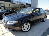 2008 Deep Sea Blue Pearl Effect Audi A4 2.0T quattro Sedan #37839578