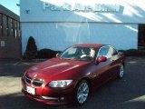 2011 Vermillion Red Metallic BMW 3 Series 328i Convertible #37776904