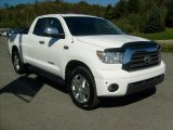 2008 Super White Toyota Tundra Limited Double Cab 4x4 #37840046