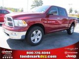 2011 Deep Cherry Red Crystal Pearl Dodge Ram 1500 Big Horn Crew Cab #37839486