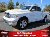 2011 Bright White Dodge Ram 1500 Big Horn Quad Cab #37839487