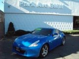 2009 Monterey Blue Nissan 370Z Touring Coupe #37776908