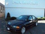 2001 Jet Black BMW 3 Series 325i Sedan #37776909