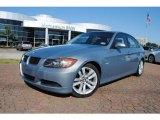 2007 Atlantic Blue Metallic BMW 3 Series 328i Sedan #37839704