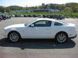 2011 Performance White Ford Mustang V6 Premium Coupe #37887476