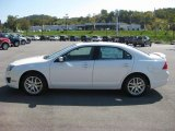 2011 White Platinum Tri-Coat Ford Fusion SEL V6 #37887472