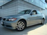 2007 Arctic Metallic BMW 3 Series 328xi Sedan #37896166