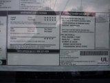 2010 Chevrolet Silverado 1500 LS Crew Cab 4x4 Window Sticker