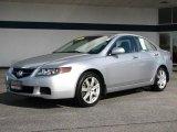 2005 Satin Silver Metallic Acura TSX Sedan #37896409