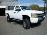 2011 Summit White Chevrolet Silverado 1500 LS Regular Cab 4x4 #37896170