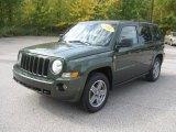 2007 Jeep Green Metallic Jeep Patriot Sport 4x4 #37896593