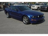 2005 Sonic Blue Metallic Ford Mustang GT Premium Coupe #37896659