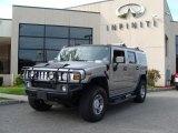 2003 Pewter Metallic Hummer H2 SUV #37896428
