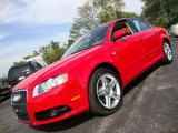 2008 Audi A4 Misano Red Pearl