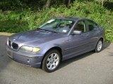 2002 Steel Blue Metallic BMW 3 Series 325xi Sedan #37896443